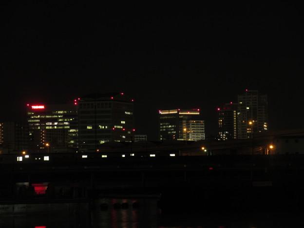 夜の博多港  6