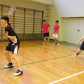Photos: 平田・水尾ダブルス