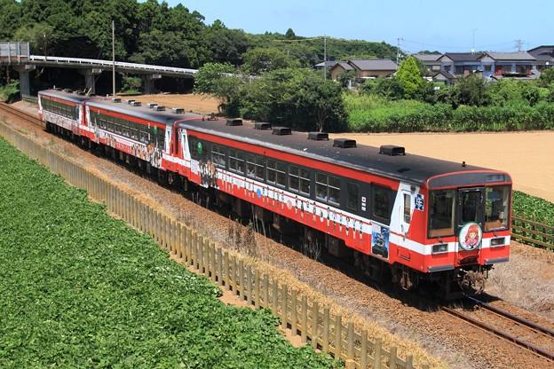 916D 鹿島臨海鉄道6000形6011+6018+6006