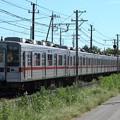 臨貨8014レ デキ504+東武10030系11637F+11442F 10両