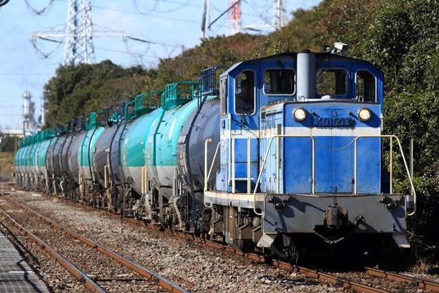 Photos: 206レ KD60 3+タキ