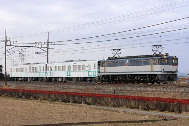 9175レ EF65 2088+関東鉄道キハ5012+キハ5011