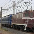 Photos: 臨貨8022レ デキ505+14系 4両+デキ502