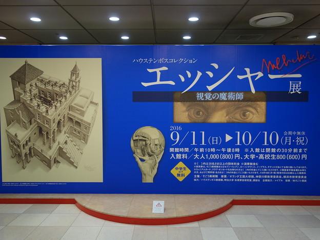 そごう美術館・エッシャー展 (横浜市西区高島)