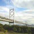 Photos: 瀬戸大橋。上が車。下に電車が走ってる