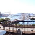 LA NOCCA SUBMARINE ラノッカ サブマリン 潜水艦桟橋前店 テラス席からアレイからすこじま 呉市昭和町