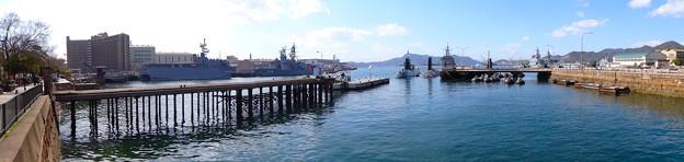 海上自衛隊 呉基地 潜水艦桟橋 呉市昭和町 アレイからすこじま
