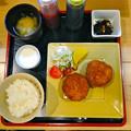 キッチンコマチ ランチ 手作りコロッケ定食 650円 広島市中区小町