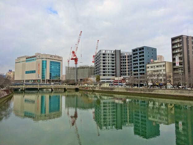 Photos: 猿猴川 猿猴橋 広島市南区猿猴橋町 2015年1月8日