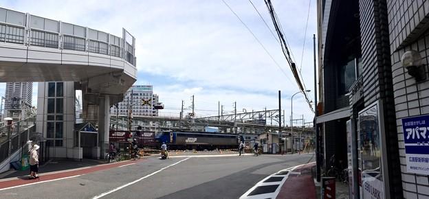 愛宕踏切 愛宕跨線橋 広島市南区猿猴橋町
