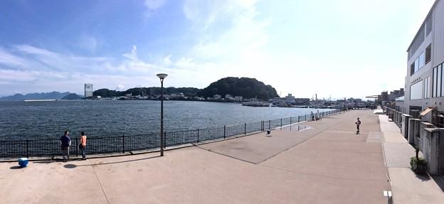宇品海岸プロムナード Ujina seaside promenade 広島市南区宇品海岸3丁目