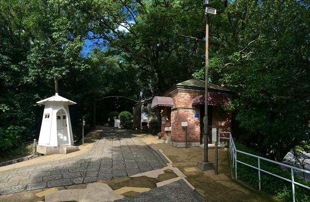 入船山公園 番兵塔 ボランティア詰所 旧券売所 呉市幸町