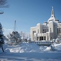Photos: 雪化粧の札幌神殿