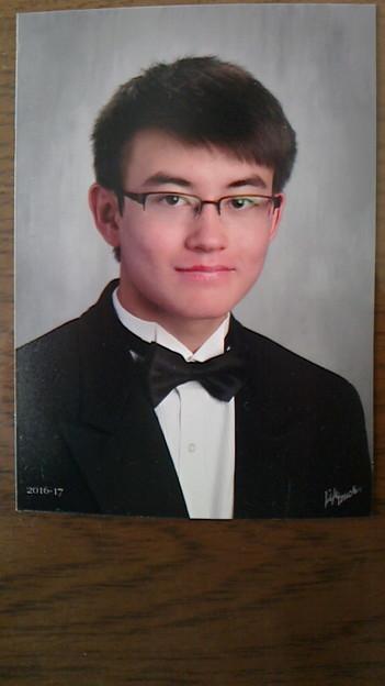 Alexander, one of my grandsons. アレクサンダー・リッチンズ