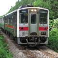 宗谷本線321D、キハ54とキハ40の併結。 @宗谷本線 北剣淵