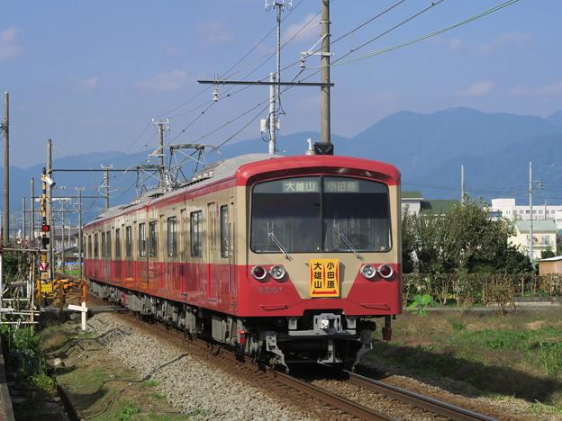 足柄の赤電。 @伊豆箱根鉄道大雄山線 塚原~和田河原