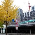 写真: 旧逓信ビル跡