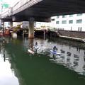 写真: 川下り