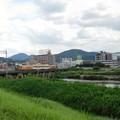 大和川を渡る近鉄大阪線 (1)