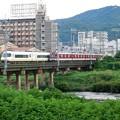 大和川を渡る近鉄大阪線 (2)