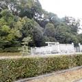 写真: 文武天皇陵 (1)
