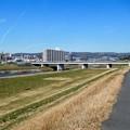大和川と昭和橋