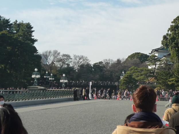 皇居正門内鉄橋(旧西丸下乗橋=二重橋)