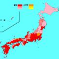 写真: インフルエンザマップ