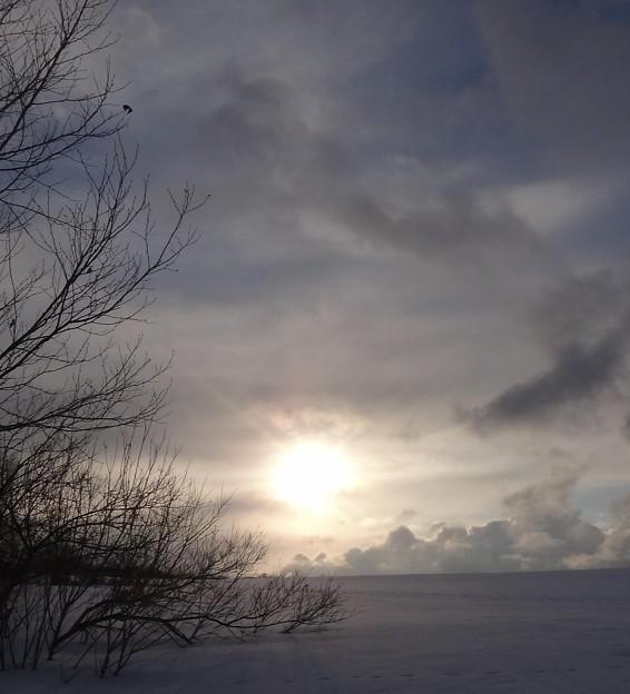 Photos: 日没が近い!