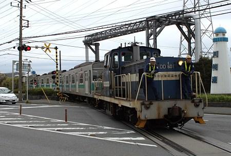 神奈川臨界鉄道 203系海外譲渡配給