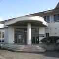 徳島県藍住町の体育センター。(2015年)