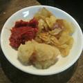 大蒜と辛味噌