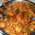 Photos: 男所帯の晩ご飯:今日はマカルナ