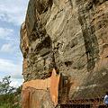Photos: シーギリヤ・ロックの岩肌