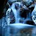 写真: 氷滝