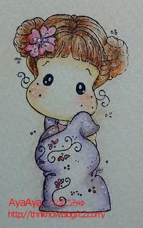 マグノリアsakura水彩色鉛筆のコピー