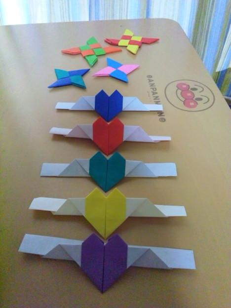 ハート 折り紙:折り紙 チョコレート 折り方-divulgando.net