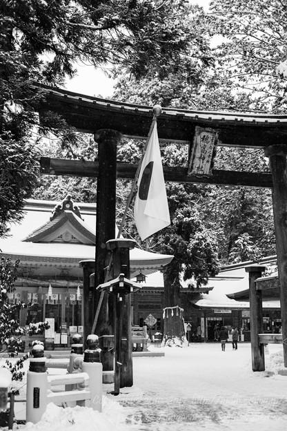 写真: 穂高神社