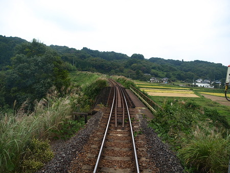 烏山線の車窓(小塙→滝)18