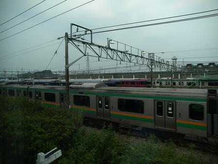 E231系グリーン車車窓3