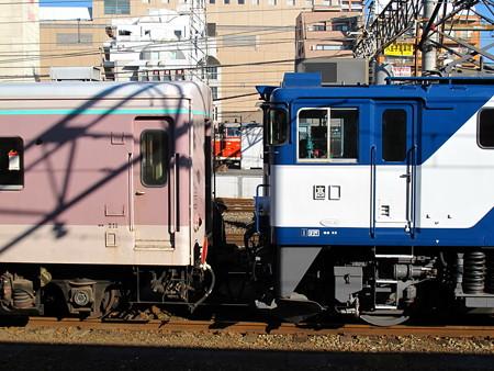 EF64-1010+マニ50-2186(八王子駅)6