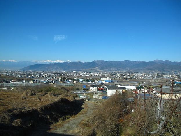 写真: 塩山界隈