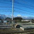 写真: 日野春駅
