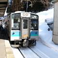 写真: E127(南小谷駅)2
