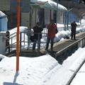 写真: 大糸線キハ52-156後方車窓10