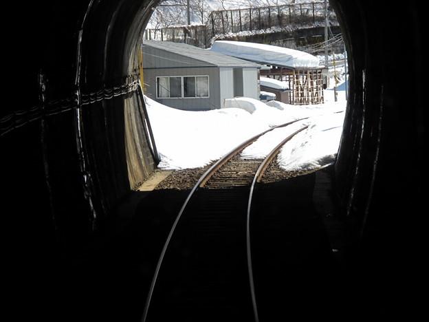 写真: 大糸線キハ52-156後方車窓11