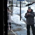 写真: 大糸線キハ52-156後方車窓20