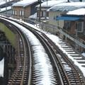 写真: 大糸線キハ52-156後方車窓23