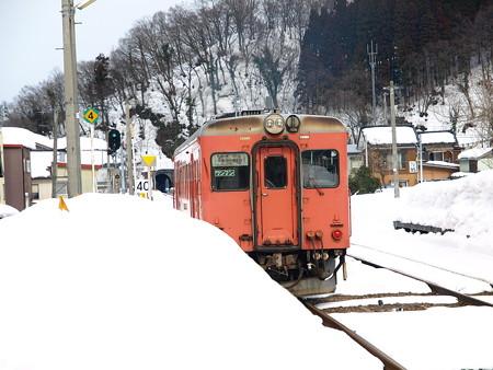 大糸線キハ52-156(根知駅)