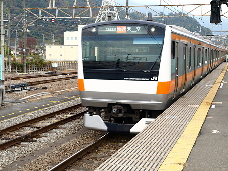 E233系中央本線(大月駅)1